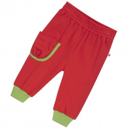 Jogging rouge Piccalilly